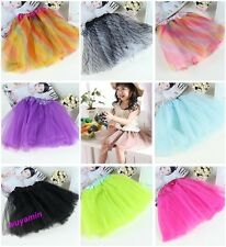 New baby girls tutu skirts 23 colors Zebra Rainbow Leopard kids summer dress