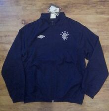 BNWT OFFICIAL UMBRO GLASGOW RANGERS MATCHDAY WOVEN JACKET - JUNIOR - (3 Sizes)