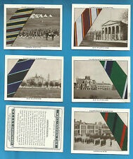 Original Churchman cigarette cards - WELL KNOWN TIES 1935 - INDIVIDUAL CARDS