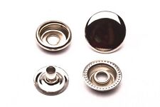 """20 Ligne12.5mm (1/2"""") Ring Snaps 4 Part Durable,heavy duty and sturdy, usa sale"""