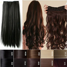 USA clearance sales clip in hair extensions 3/4 full head 100% real natural hair