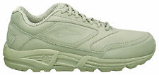 Brooks Addiction Walker Womens Leather Walking Shoes (D) (BONE) - FREE DELIVERY