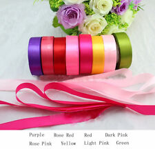 Quality New Craft Wedding Satin Ribbon Candy Box Ribbons Colorful Wedding Party