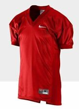 NEW Mens 2XL NIKE Destroyer Scarlet Red Mesh Game Uniform Football Jersey Shirt