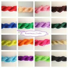 Braided Nylon Cord Beading Knotting Shamballa Macrame DIY 1.5mm 14yd