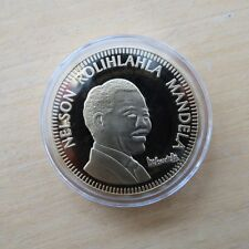 Nelson Mandela Collector Medals Silver or Gold Plated * New *