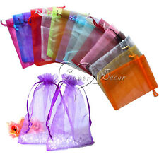 500 pieces Sheer Organza Wedding Party Favor Decoration Gift Candy Pouch Bags