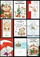 CHRISTMAS CARDS ~ SOMETHING FOR EVERYONE ~ Quality card ~ ONLY 99p Each