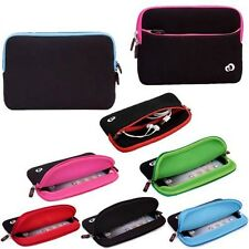 Soft Neoprene Zipper Sleeve Case Pouch Bag Washable For Apple iPad Mini Tablet