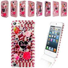 BARBIE DIAMOND FLOWER GEMSTONE CASE COVER FOR VARIOUS MOBILE PHONE