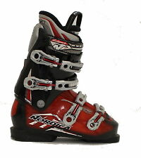 Used Nordica Sport Machine Red Black Ski Boots Men's Size