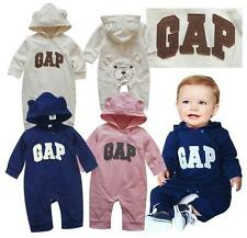 Baby Boys/Girls Kids for gap Bear Romper clothes sets outfiits pink/blue 0~18M