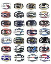 New NFL National Football League Rectangle Oficial Licensed Pewter Belt Buckle