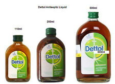 Dettol Antiseptic Liquid Disinfectant Cleaner First Aid Kills Germs -Select Size