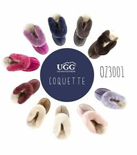 Unisex/Ladies/Men New 100% Australian Sheepskin UGG Slippers scuff