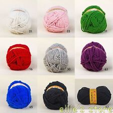 Lots of 3.53oz/100g Skein Soft Skein Sheep Wool Scarf Knitting Yarn ,Worsted