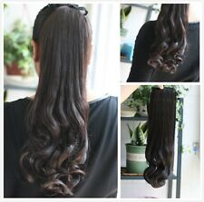 Hot Sex Women Horsetail Hair Extensions Curly Make Up Ponytail Hairpiece CD2025