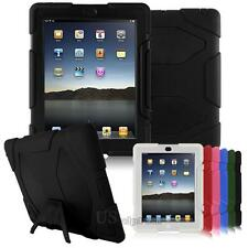 Kid Armor Shockproof Double Protection Kickstand Case Cover For Apple iPad 2/3/4