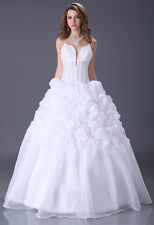 2013 Quinceanera Dresses Party Prom Dress Bride Gown A Line Size 6 8 10 12 14 16