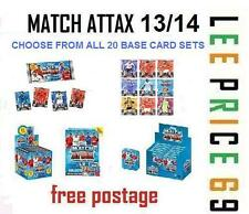 MATCH ATTAX 13/14 CHOOSE BASE CARD SETS FROM ALL 20 TEAMS