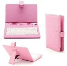 """7"""" inch PU Leather USB/micro Keyboard Stand Case for Android Tablet A13 Q88 Gift"""