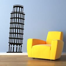 Leaning Tower of Pisa Italy Wall Sticker Art Design Graphic Transfer Mural CU20