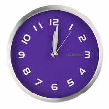 Non-Ticking Silent Early Spring Wall Clock Home Decor - Assorted Colors