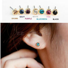 Crystal Rhinestone Diamond Gold Plated Ear Stud eardrop Earring Earrings Lovely