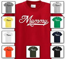 Mommy Since 2014 Tee Shirt - New Baby Gift for Mother Mama T-Shirt Tee Gag Gift
