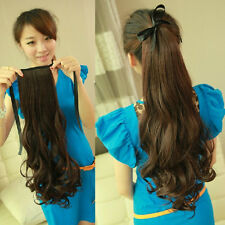 price cutting Ponytail Clip On Hair-Piece Extensions wrap around & claw Pony-tai