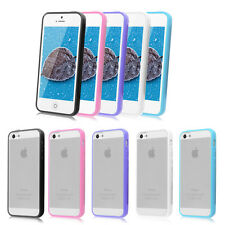 Hard PC Matte Case Cover Skin with Soft TPU Bumper Frame for iPhone 5 5S HOT!