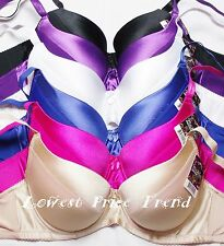 1 Bra or Lot of 6 pcs Push-Up Bras 34DD 36DD 38DD 40DD 42DD 44DD New BR9072P