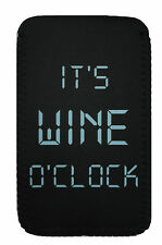 Wine O Clock COVER  CASE POUCH Sleeve Fits Kobo Glo, Touch, Aura