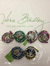 NWT Vera Bradley Lanyard Key Ring ID Phone Holder Holiday Gift Stocking Stuffer