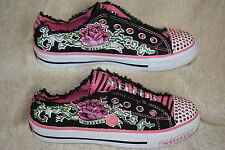GIRLS SKECHERS TWINKLE TOES SHOES~MULTIPLE SIZES AVAILABLE  (797)