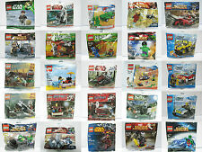 LEGO STAR WARS SUPER HEROES NINJAGO HARRY POTTER TOY STORY LoTR Poly Bag