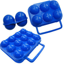 New 2/6/12 Eggs Carry Holder Storage Box Case Container Camping Hiking Portable