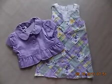 NWT Girl's Gymboree Daffodil Garden purple short sleeve shirt ~ 4