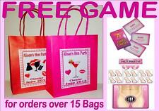 PERSONALISED HEN NIGHT PARTY GIFT BAGS