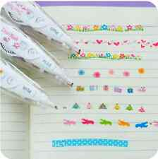 New PLUS Japanese Stationery Decoration Rush Tape Pen for DIY scrapbook diary