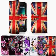 Floral Design PU Leather Wallet Case Cover For Huawei Ascend Y300