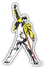 Freddie Mercury Queen Sticker Decal *3 SIZES* Legend Vinyl Bumper Wall