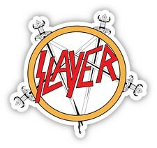 SLAYER Vinyl Sticker Decal *4 SIZES* Thrash Metal Vinyl Bumper Wall