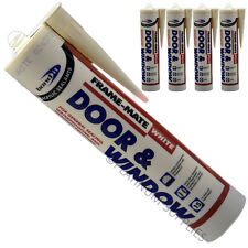 4X FRAME-MATE DOOR & WINDOW ACRYLIC FRAME SEALANT FILL CRACKS AND JOINTS