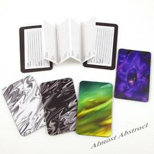 Abstract Design Credit Card Sized Magnetic Address Book (Choice of Images) ~ New