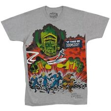 Fantastic Four Doomsday Silver Surfer Galactus Licensed Adult Shirt S-XXL