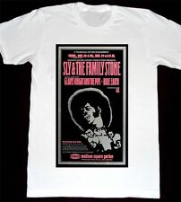 M47 Vintage Concert Poster: Sly & The Family Stone - Gladys Knight - Tshirt