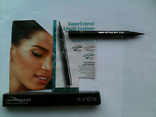 AVON SUPER EXTEND LIQUID EYELINER BOXED BRAND NEW * BLACK, TEAL, PLUM OR BROWN
