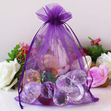 50 pieces Organza Bags Jewelry Pouches Wedding Favor Christmas Gift Candy Bags