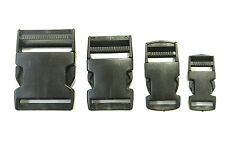 20mm,25mm,40mm,50mm,Black Plastic Side-Release Buckles For Webbing,Bags,Straps